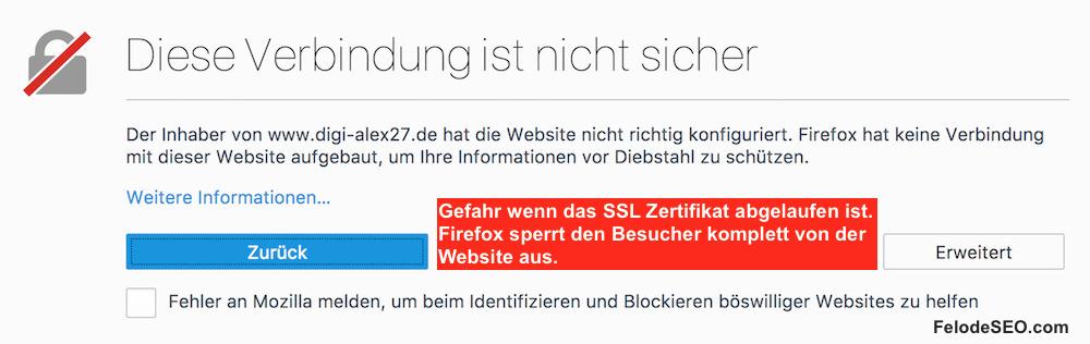SSL Verschlüsselung Pflicht? http auf https umstellen